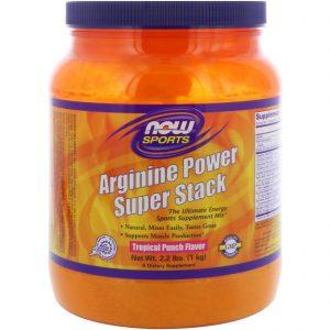 Αργινίνη της Now Foods