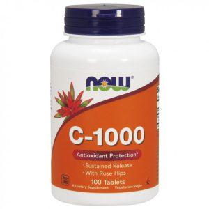 Βιταμίνη C-1000 με Rose Hips της Now Foods