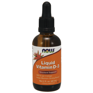 Now Foods Liquid Vitamin D-3 60 ml