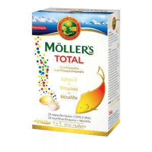 Moller's Total 28 tabs & 28 caps